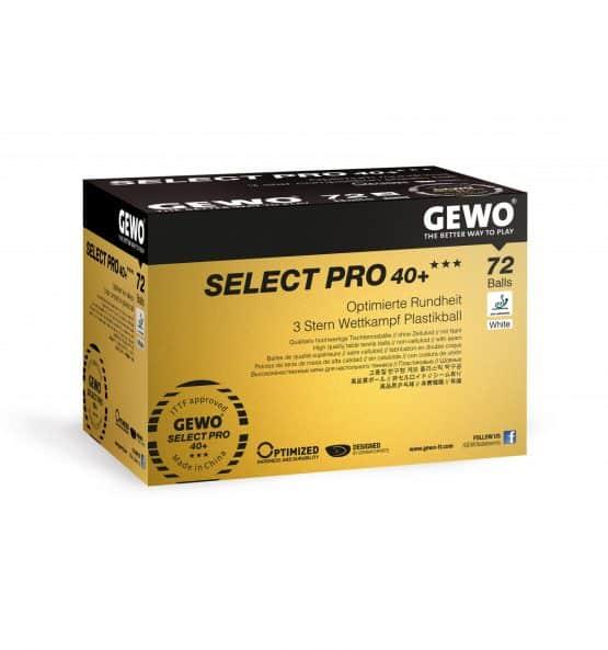 Gewo select pro 40 +